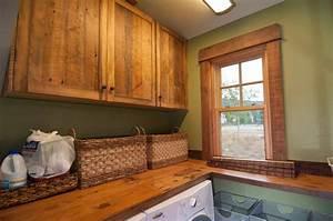 photo 22298 barnwood window trim and cabinets With barnwood trim