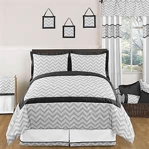 sweet jojo designs zig zag comforter set in grey black www buybuybaby com