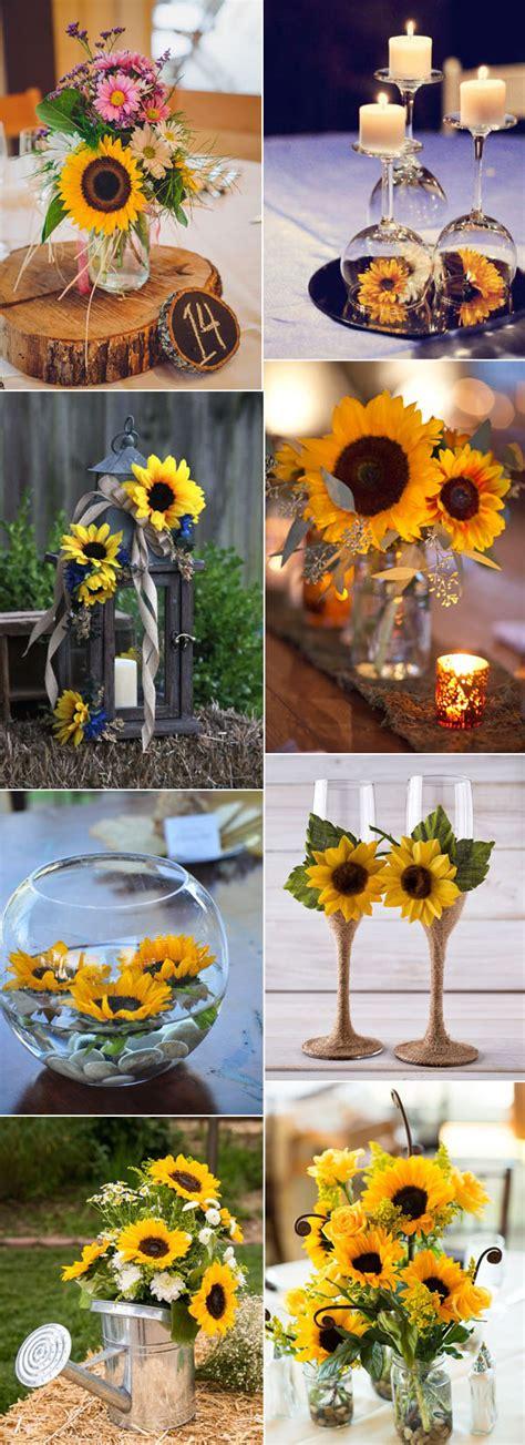 super cool ideas  incorporate sunflowers