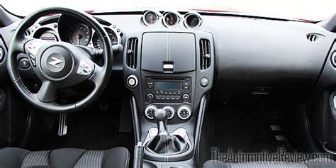 nissan 370z interior 2016 nissan 370z review the automotive review