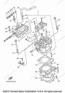 Yamaha Atv 2006 Oem Parts Diagram For Cylinder