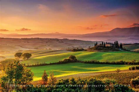 Tuscan Sunrise In Val Dorcia Tuscany Photo Tour