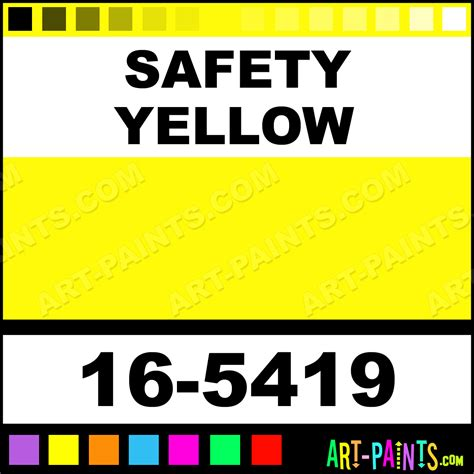 Check spelling or type a new query. Safety Yellow Hi-Tech H2O Spray Paints - 16-5419 - Safety Yellow Paint, Safety Yellow Color ...
