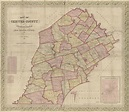 Map of Chester County, Pennsylvania : from original ...