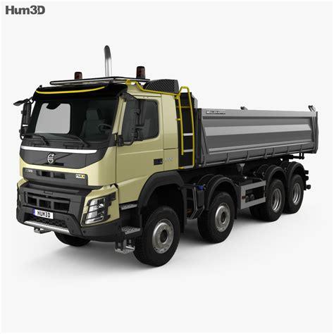 volvo fmx tipper truck   model humsterd