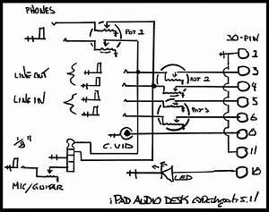 Ipad Audio Desk Schematic