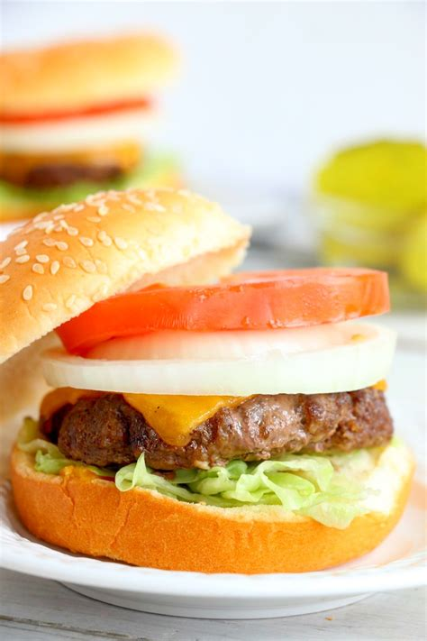 air fryer burgers frozen fry easy hamburgers juicy