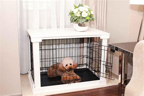 dog crates    furniture pieces