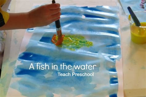 fish in the water teach preschool 951 | A fish in the water by Teach Preschool