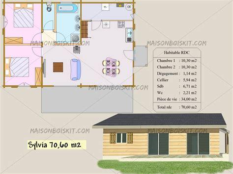 plan maison plain pied 2 chambres nous construisons toujours votre maison individuelle en