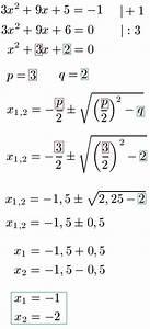 Stromzähler Richtig Ablesen Und Berechnen : nullstellen quadratische funktion gleichung ~ Themetempest.com Abrechnung