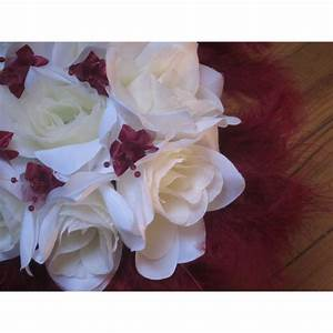 Bouquet De La Mariée : bouquet de la mari e rond avec roses perles et plumes ~ Melissatoandfro.com Idées de Décoration