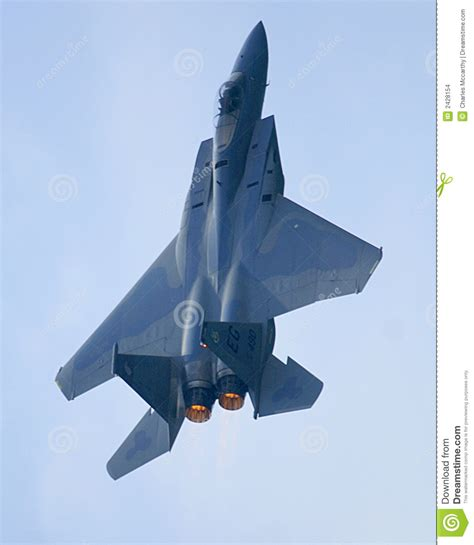 F15 Eagle Jet Afterburner Stock Photo. Image Of Military