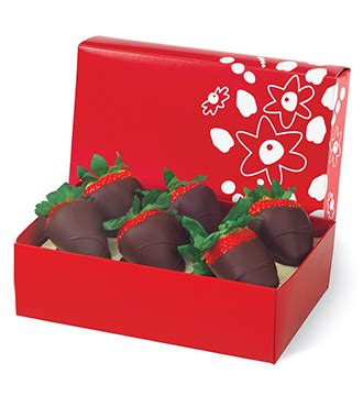 edible arrangements  chocolate dipped strawberries  box