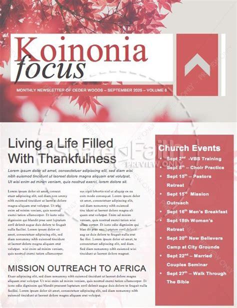 prayer service ministry newsletter template newsletter