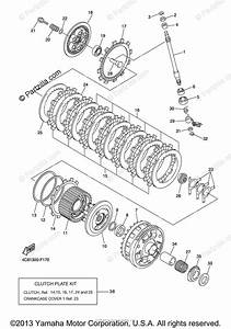 Yamaha Motorcycle 2008 Oem Parts Diagram For Clutch