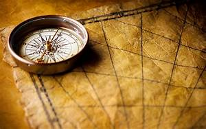 Compass on old world map wallpapers and images ...