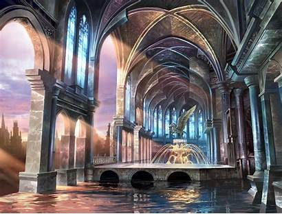 Lost Cathedral Soulcalibur Background Forsaken Sanctuary Siegfried