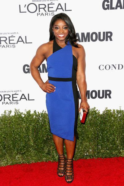 Simone Biles In Dress