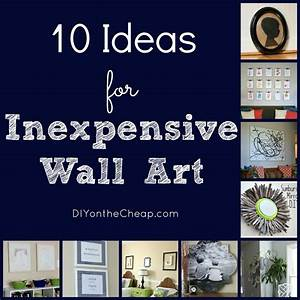 Inexpensive wall art 1 wall decal for Inexpensive wall art