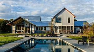 Smith, And, Vansant, Architects, The, Modern, Meadow, Retreat