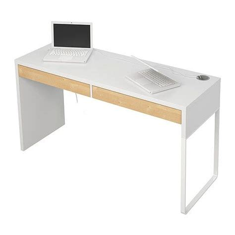 table de bureau ikea micke bureau blanc modern desk 142 and front rooms