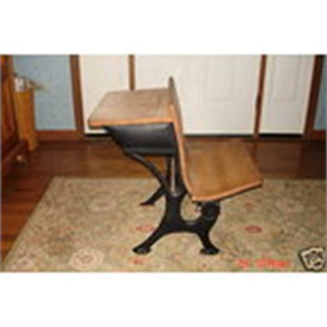 vintage school desk with chair attached antique vintage childs school desk w attached chair 10 08