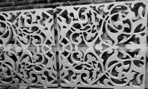 grc hexacon indonesia ornamen grc  roster beton tips