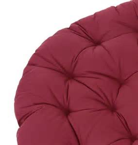 papasan cushion red wine 163 115 00 163 115 00 papasanchair