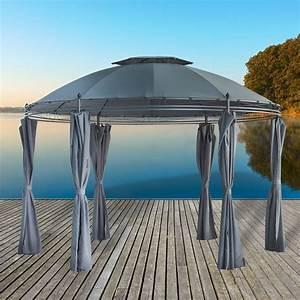 pavillon 3 5x3 5 wasserdicht luxus pavillon gartenzelt With französischer balkon mit sonnenschirm wasserdicht 3m