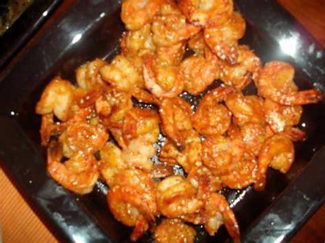 comment cuisiner des gambas recette de crevettes sauce piquante par cissi