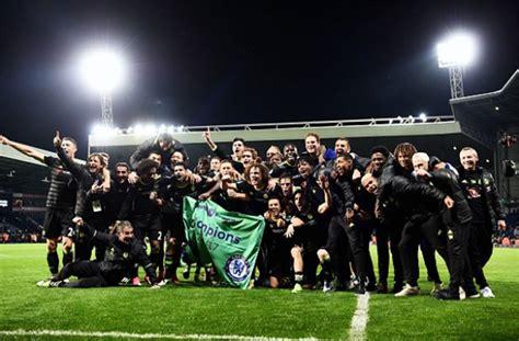 Chelsea Crowned English Premier League Champions!   BellaNaija