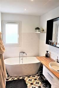 Abat Jour Salle De Bain : id e d coration salle de bain rendez vous d co la r novation de la salle de bain avant ~ Melissatoandfro.com Idées de Décoration