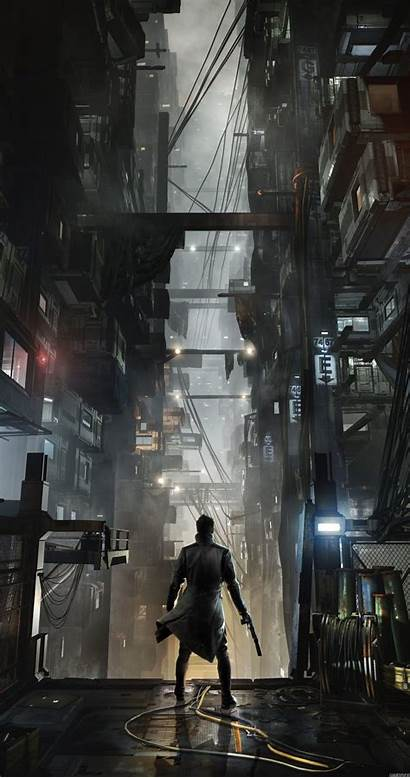 Cyberpunk Scaled Android Wallpapers Background 4k Games