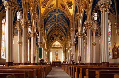 famous basilica  indiana