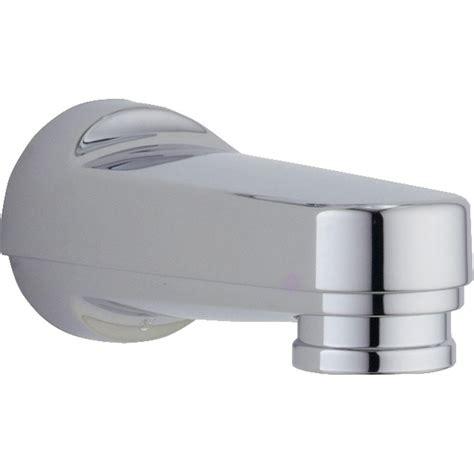 tub diverter delta innovations pull diverter tub spout in chrome
