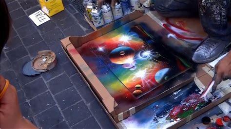 Amazing Street Artist  Amazing Street Art Painting