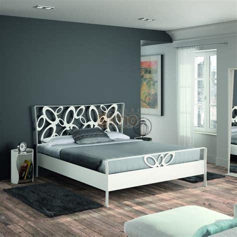 tete de lit chambre adulte lit adulte contemporain métal thermolaqué tête de lit