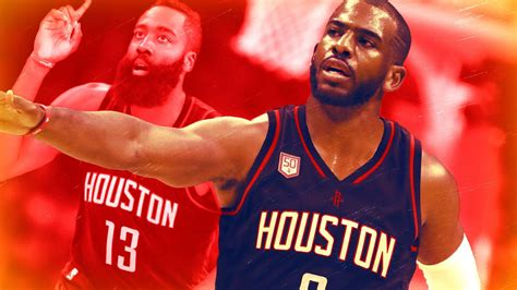 How Will Chris Paul And James Harden Fit Together The