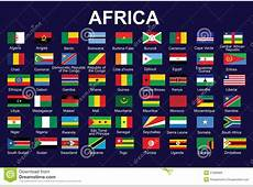 Flags Of Africa Royalty Free Stock Image Image 27668966