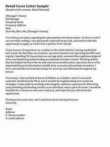 retail cover letter samples resume genius With cover letter simple