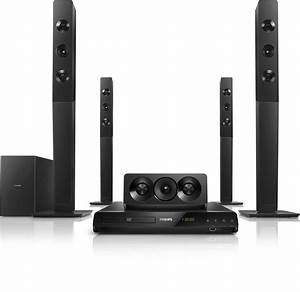 5.1 DVD Home theater HTD5580/94