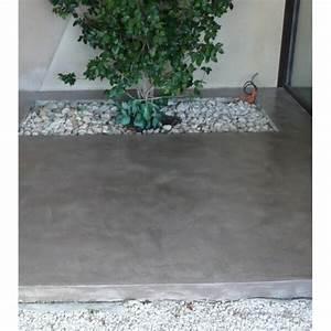 kit terrasse beton cire exterieur preparation pour With terrasse beton cire exterieure