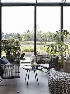 Jardin D Hiver Veranda : un salon fa on jardin d 39 hiver des id es d co pour l ~ Premium-room.com Idées de Décoration