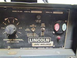 Lincoln Idealarc Dc Ln9 Wire Feeder