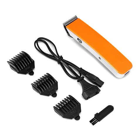 rechargeable electric hair clipper cutter beard shaver razor trimmer