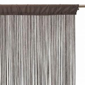 Rideau Fil Noir : rideau de fil ~ Teatrodelosmanantiales.com Idées de Décoration