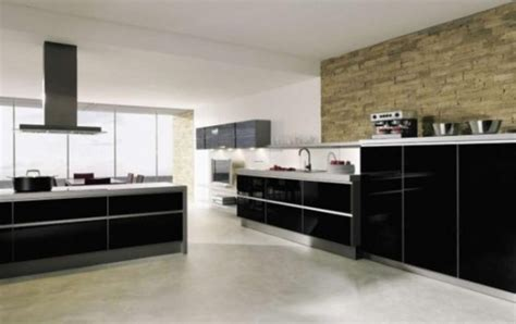 modern kitchen design with wall tile 2 design bookmark