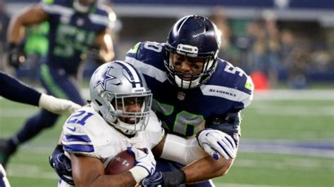 seahawks face cowboys  wild card weekend  players