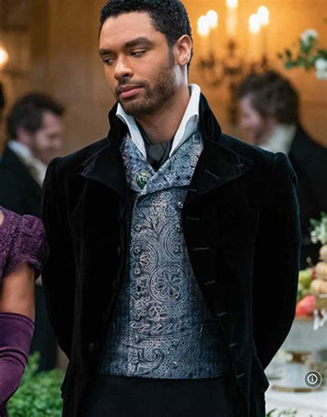 How long have the pair been dating? Regé-Jean Page Bridgerton Coat | Simon Basset Black Velvet ...